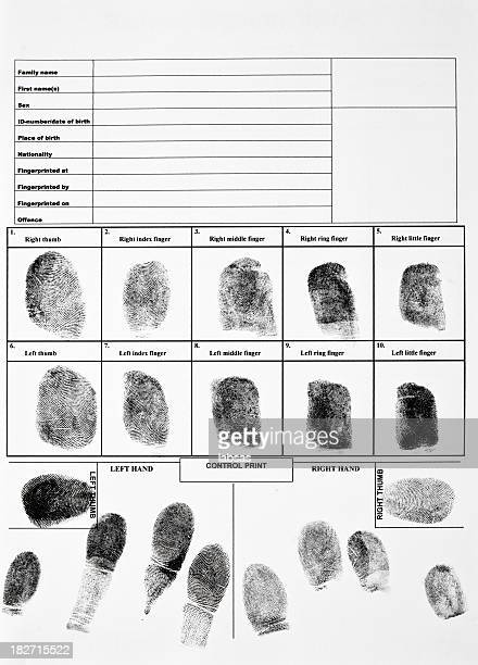 An authentic form of fingerprints