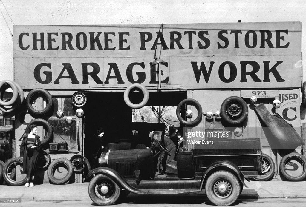 An auto parts shop in Atlanta, Georgia.