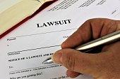 An concept Image of a lawsuit