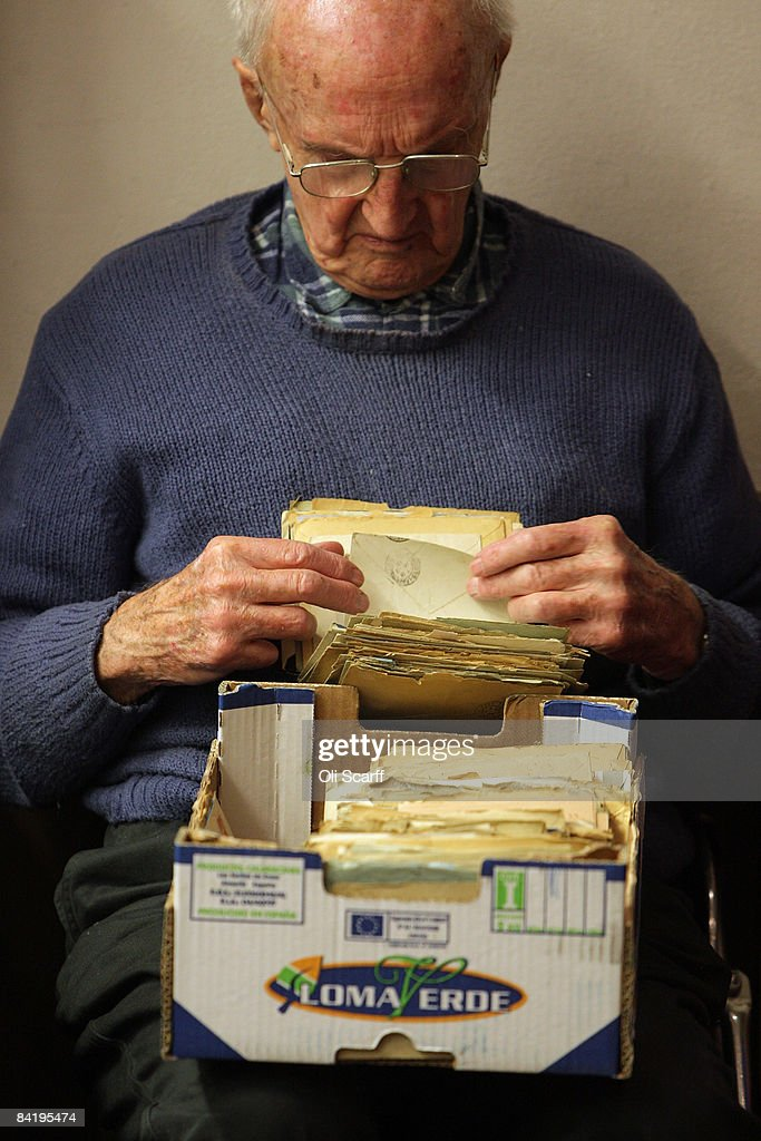 An elderly stamp collector looks through a box of letters for sale at the Strand Stamp Show in the Royal National Hotel on January 7, 2008 in London, England. The monthly Strand Stamp Show held in London attracts philatelist dealers and collectors from around the country.