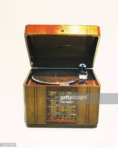 An electric gramophone