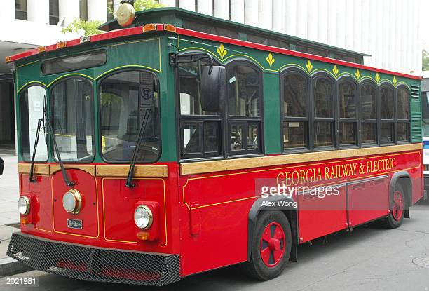 Trolley Bus Stock Photos And Pictures Getty Images