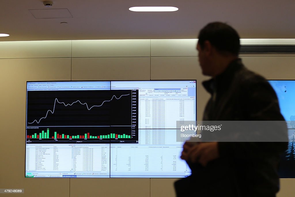 Russian trading system index bloomberg
