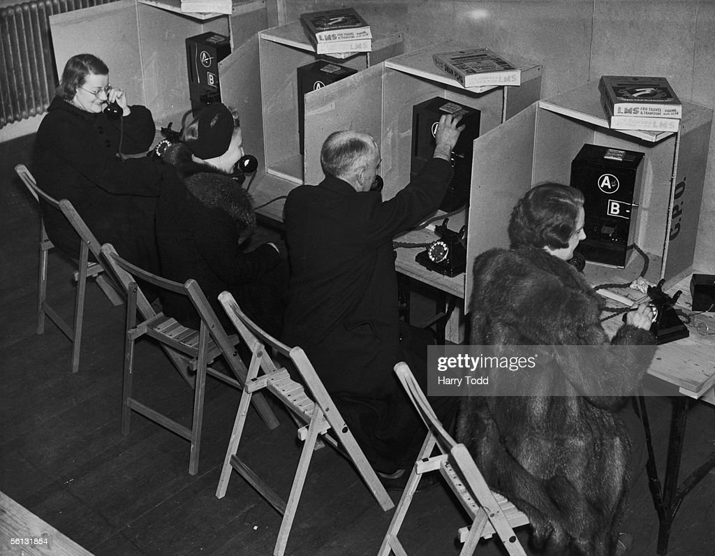 Telephone Bureau Pictures Getty Images