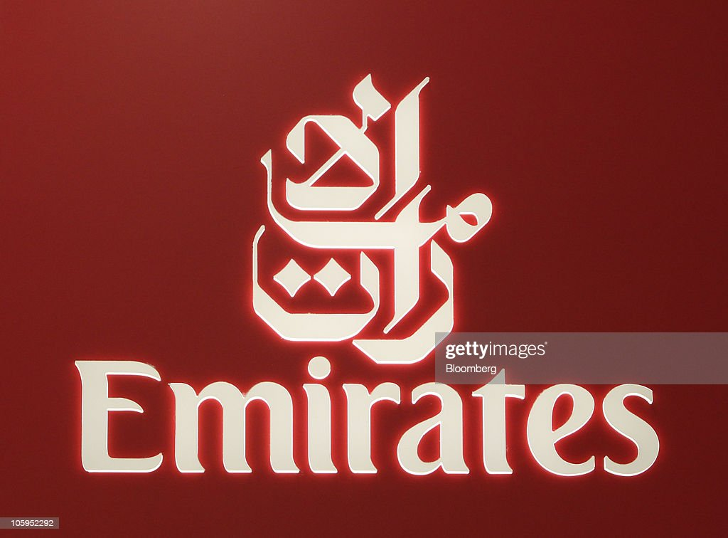emirates airbus a380 flies into manchester airport getty