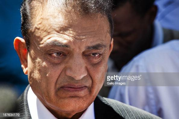 An emotional Vinod Hindocha father of murdered Anni Dewani ahead of the sentencing of Xolie Mngeni on December 5 2012 in Cape Town South Africa...