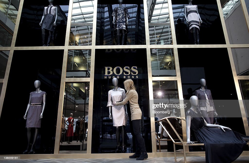 garment production at hugo boss ag headquarters getty images. Black Bedroom Furniture Sets. Home Design Ideas
