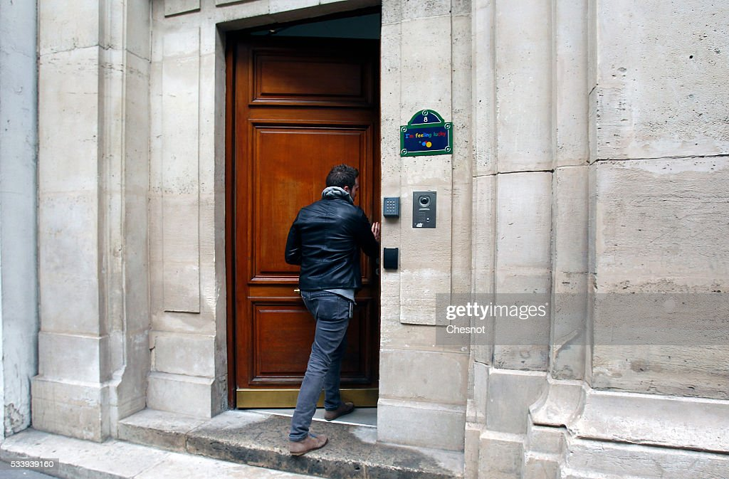An employee arrives at the Google's Paris headquarters on May 24, 2016 in Paris, France. Google's headquarters in Paris were raided by French investigators on Tuesday morning as part of an investigation over alleged tax fraud. Ministry of Finance is seeking 1.6 billion euros ($1.79 billion) in back taxes from the U.S. Internet giant Google.