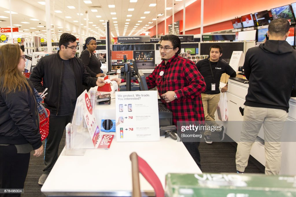 Inside A Target Corp. Store On Black Friday