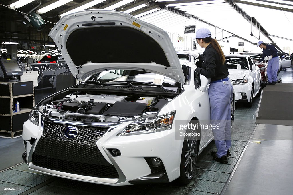 Toyota Motor Corp Lexus Nx Line Off Ceremony And Tour Of