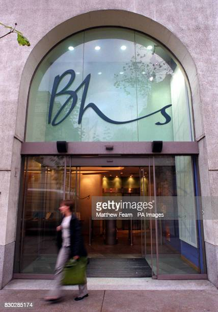 An employee leaves the Bhs head office in central London It has been announced that the Bhs parent company Storehouse is to axe 115 head office jobs...