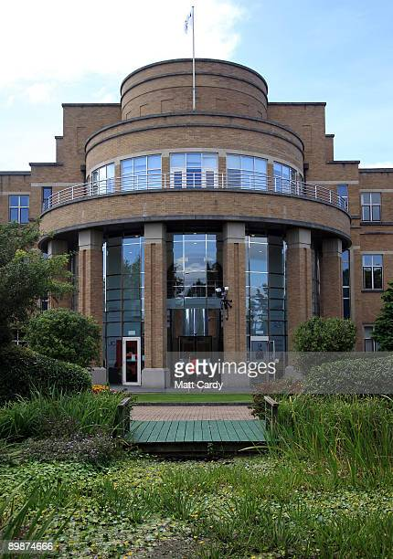An employee leaves the Ucas building as they prepare to assist Alevel students ahead of results day on August 19 2009 in Cheltenham England With...