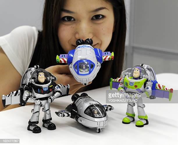 Japanese Toy Companies : Buzz lightyear stock photos and pictures getty images