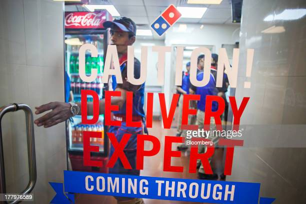 Dominos Kitchen restaurant kitchen door stock photos and pictures | getty images