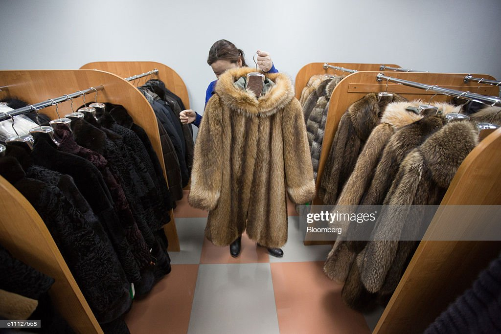 Siberian Fur Workshop And Store Photos and Images | Getty Images