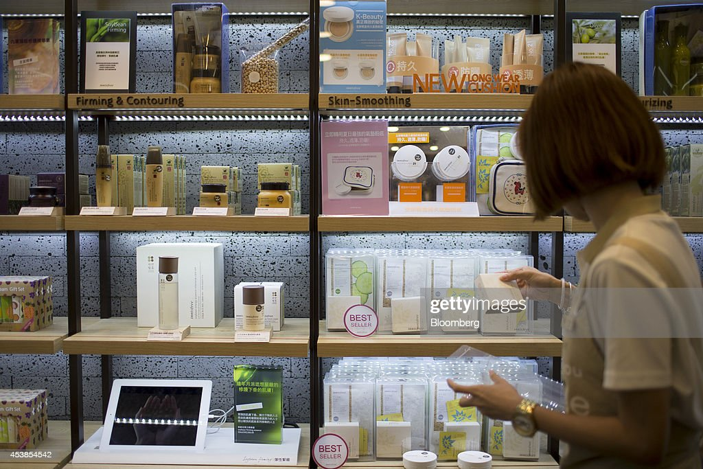 Inside Amorepacific Corp S Etude House Cosmetics Store As