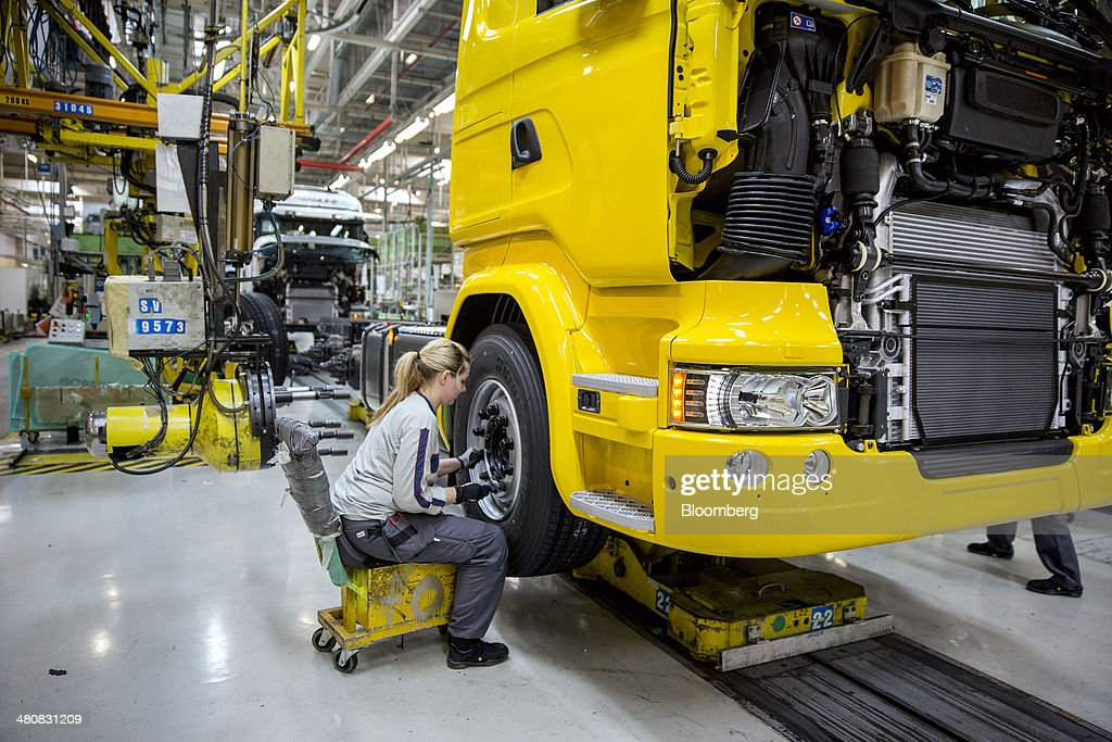 scania ab production line as volkswagen ag consider  9 33
