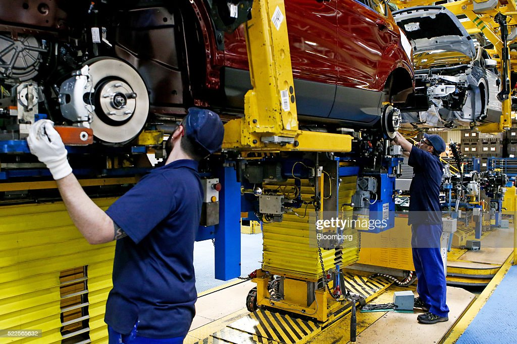 Ford motor co 39 s valencia mega plant getty images for Ford motor company auto parts