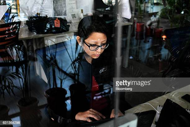 An employee works at the office of PayTM a unit of One97 Communications Ltd in Noida Uttar Pradesh India on Wednesday Dec 14 2016 India's largest...