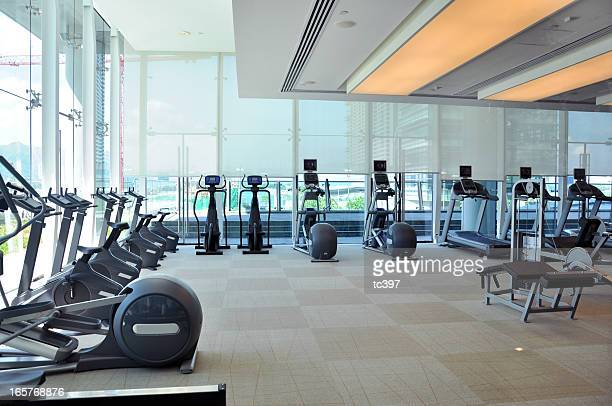 Empty gym stock photos and pictures getty images