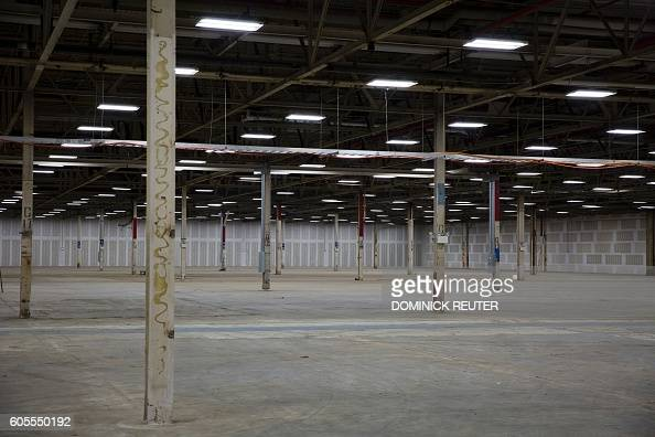 An Empty Industrial Space Is Seen In Preparation For