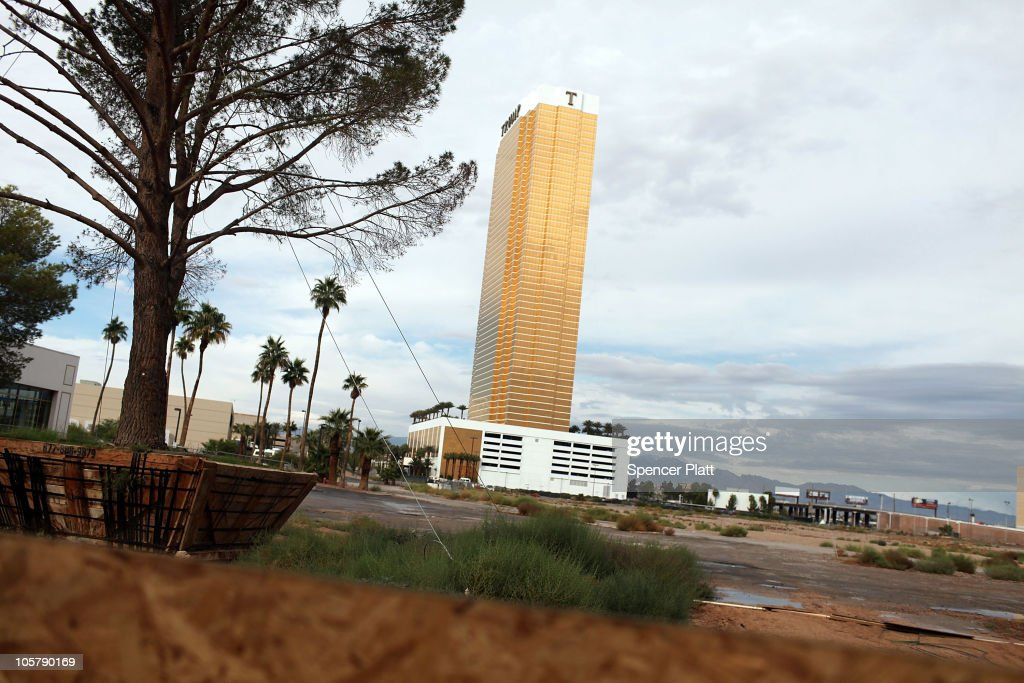 An empty lot near a halted construction project is viewed on Las Vegas Boulevard on October 20, 2010 in Las Vegas, Nevada. Nevada once had among the lowest unemployment rates in the United States at 3.8 percent but has since fallen on difficult times. Las Vegas, the gaming capital of America, has been especially hard hit with unemployment currently at 14.7 percent and the highest foreclosure rate in the nation. Among the sparkling hotels and casinos downtown are dozens of dormant construction projects and hotels offering rock bottom rates. As the rest of the country slowly begins to see some economic progress, Las Vegas is still in the midst of the economic downturn.