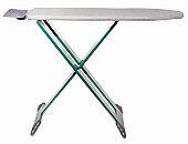 An empty modern ironing board