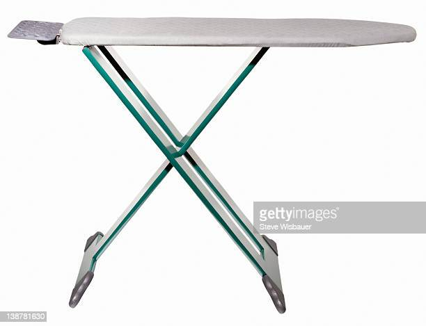 An empty modern ironing board