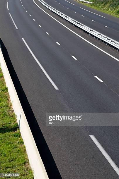 An empty motorway