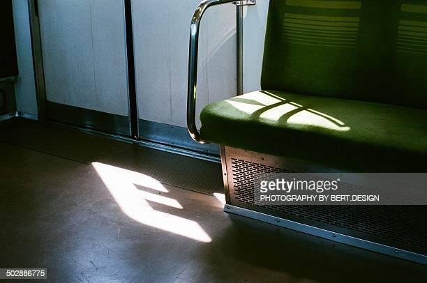 An empty seat  in Japan metro