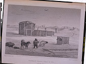 An engraving after an original drawing made by Captain George Francis Lyon during William Edward Parry's second exploration for a Northwest Passage...