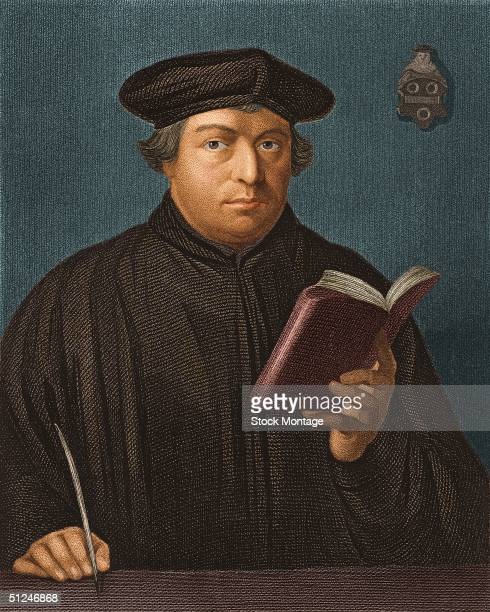 Circa 1520 Protestant reformer Martin Luther a leading figure in the Reformation