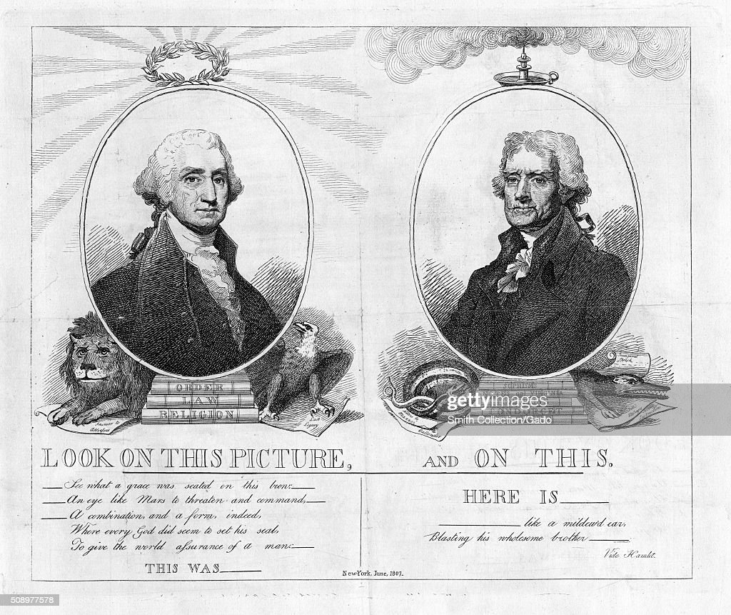 george washington and thomas jefferson Thomas jefferson is george washington's 8th cousin thrice removed james madison george's 10th ggrandpa is my 19th ggrandpa's brother i was tickled pink.