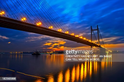 An Evening At 2nd Howrah Bridge , Kolkata