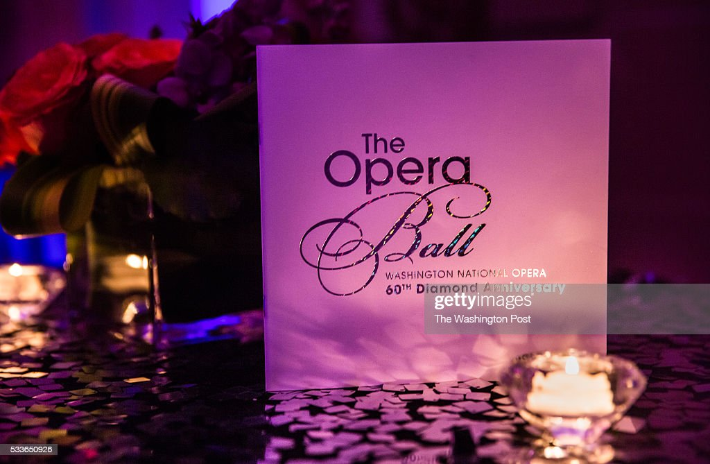 An evening program for the Washington National Opera (WNO) Ball at the Organization of American States on Saturday, May 21, 2016. The annual Ball celebrated the WNO's 60th anniversary season.