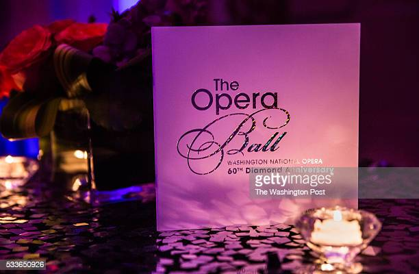 An evening program for the Washington National Opera Ball at the Organization of American States on Saturday May 21 2016 The annual Ball celebrated...