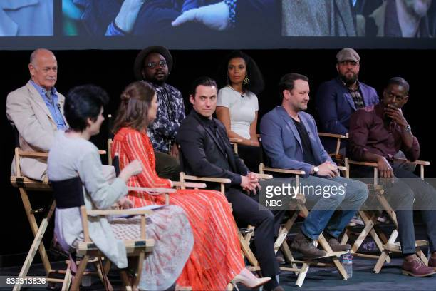 US 'An Evening With the Creator and Stars of the EmmyNominated Broadcast Drama This is Us' Pictured Gerald McRaney Moderator Mandy Moore Brian Tyree...