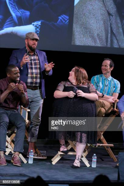 US 'An Evening With the Creator and Stars of the EmmyNominated Broadcast Drama This is Us' Pictured Sterling K Brown Chris Sullivan Chrissy Metz...