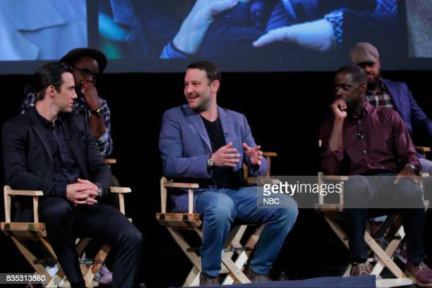 US 'An Evening With the Creator and Stars of the EmmyNominated Broadcast Drama This is Us' Pictured Milo Ventimiglia Brian Tyree Henry Dan Fogelman...