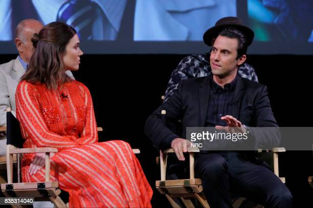 US 'An Evening With the Creator and Stars of the EmmyNominated Broadcast Drama This is Us' Pictured Mandy Moore Milo Ventimiglia at the Paramount...