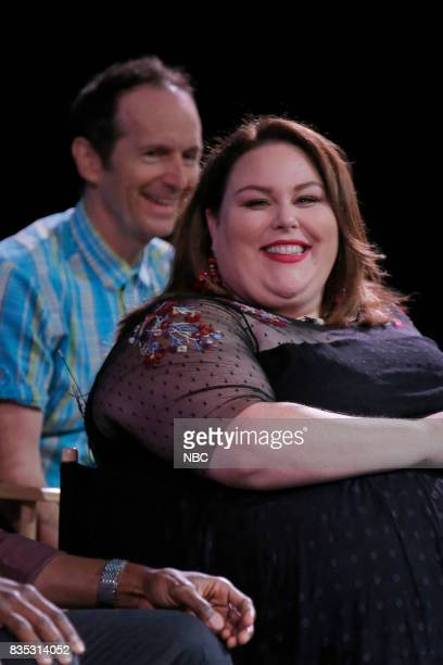 US 'An Evening With the Creator and Stars of the EmmyNominated Broadcast Drama This is Us' Pictured Denis O'Hare Chrissy Metz at the Paramount...