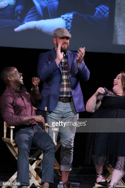 US 'An Evening With the Creator and Stars of the EmmyNominated Broadcast Drama This is Us' Pictured Sterling K Brown Chris Sullivan Chrissy Metz at...