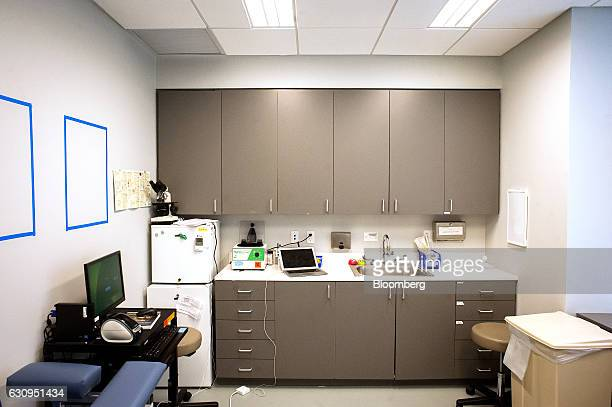 An examination room is seen at the Oscar Center in the Brooklyn borough of New York US on Wednesday Dec 7 2016 The Oscar Center runs in partnership...