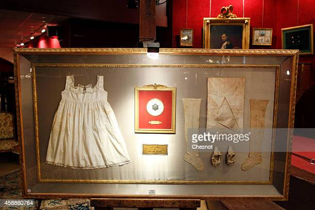 An exceptional collection which belonged to the King of Rome from the Napoleonic collection of the Palais de Monaco is displayed on November 12 2014...