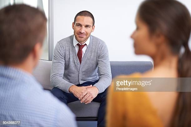 An exciting job interview