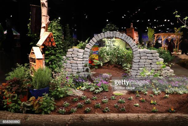 Seaport world trade center stock photos and pictures getty images for Boston flower and garden show 2017