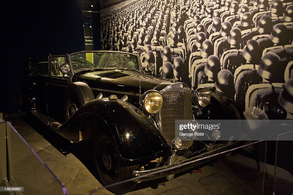 An exhibit at the War Museum features Adolph Hitler's Mercedes car, captured by the Allies in 1945, on June 30, 2012 in Ottawa, Canada. Ottawa, the captial of Canada, is the fourth largest city in the nation and home to the largest Canada Day celebration.