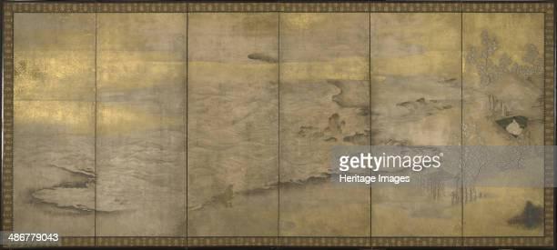 An Exiled Emperor on Okinoshima ca 1600 Artist Anonymous