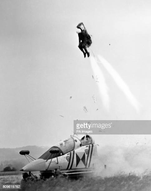 An explosive rise in the world to be followed by a gentle let down by parachute it had been saving lives for thousands of airman This spectacular...