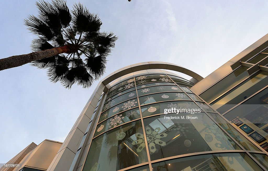 An exterior design on display during The Paley Center For Media & Warner Bros. Television Unveil Lavish Holiday Window Display at The Paley Center for Media on December 5, 2012 in Beverly Hills, California.
